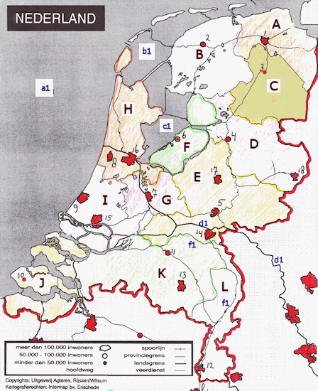 TopoSite learn topo by practicing game Topography The Netherlands